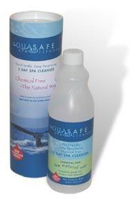 Aquasafe Spa cleanser - Buy your hot tub chemicals, accessories and supplies online from Leicester Hot Tubs, Spas and Saunas.