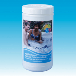 Chlorine Tablets 1kg from Leicester Hot Tub Hire, Sales, Chemicals, Accessories & Hot Tub Parts.