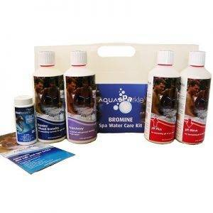 Aquasparkle Bromine Starter Chemical Pack
