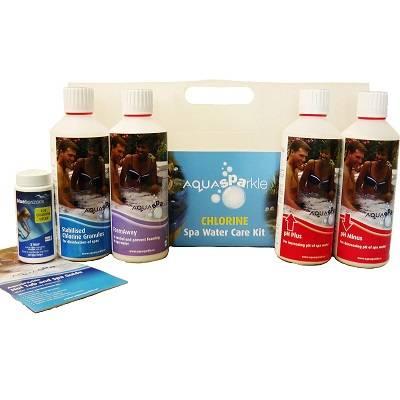 Aquasparkle Chlorine Chemical Starter Pack
