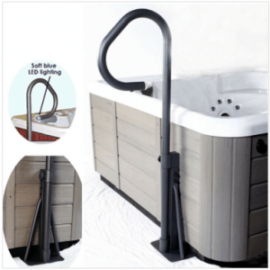 Essentials Spa Side Handrail from Leicester Hot Tub Hire, Sales, Chemicals & Accessories