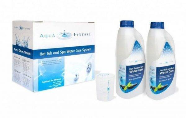 aquafinesse with bromine from Leicester Hot Tub Hire - Hot tubs in Leicestershire, Nottinghamshire, Lincolnshire, Rutland
