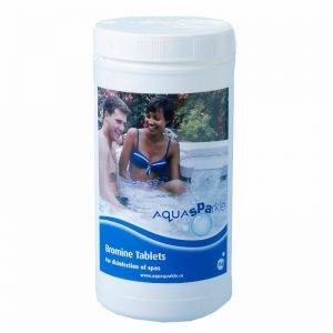 aquasparkle bromine tablets from Leicester Hot Tubs