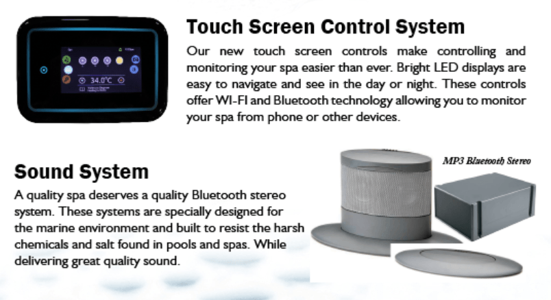 Touchscreen and Sound System