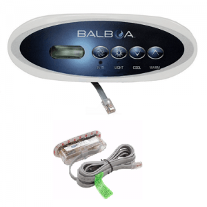 Balboa VL200 Topside Control Panel from Leicester Hot Tub Hire, Sales, Chemicals, Accessories & Hot Tub Parts.