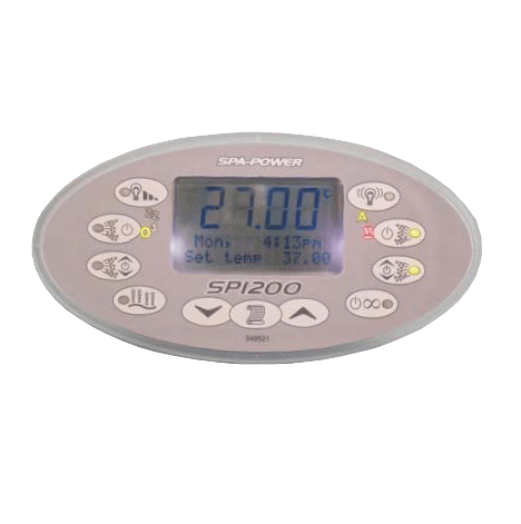 SP1200 Touchpad Spaquip Davey Spa Power Parts Sapphire Spas from Leicester Hot Tub Hire, Sales, Chemicals & Accessories