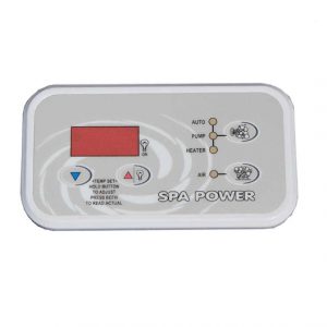 SP600 Touch Pad Spaquip Davey Spa Power Parts Sapphire Spas from Leicester Hot Tub Hire, Sales, Chemicals & Accessories