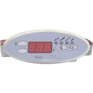 SP601 Touchpad Spaquip Davey Spa Power Parts Sapphire Spas from Leicester Hot Tub Hire, Sales, Chemicals & Accessories