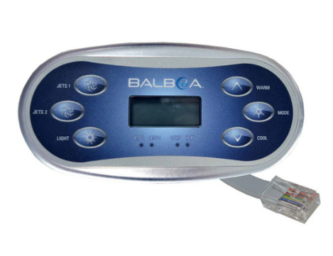 Balboa VL600S Panel 54547 from Leicester Hot Tub Hire, Sales, Chemicals & Accessories