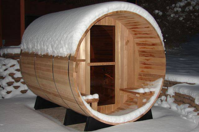 Click here to view our barrel saunas
