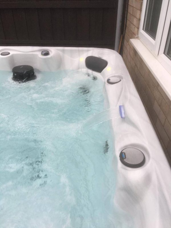 AS600 Aquadream Spas Waterfall from Leicester Hot Tub Hire, Sales, Chemicals & Accessories