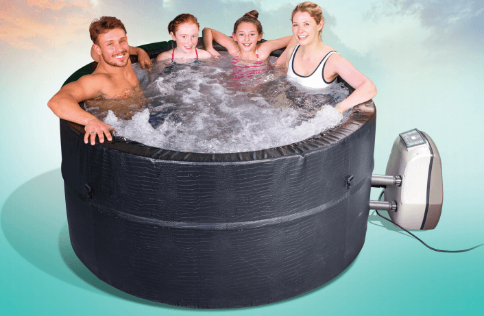Dream Bubble Family Spa for hire from Leicester Hot Tub Hire, Sales, Chemicals, Hot Tub Parts & Accessories.