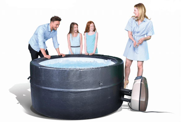 Dream Spas for hire from Leicester Hot Tub Hire, Sales, Chemicals, Hot Tub Parts & Accessories.