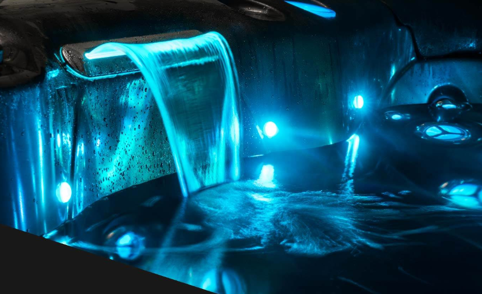 LED Waterfall Feature