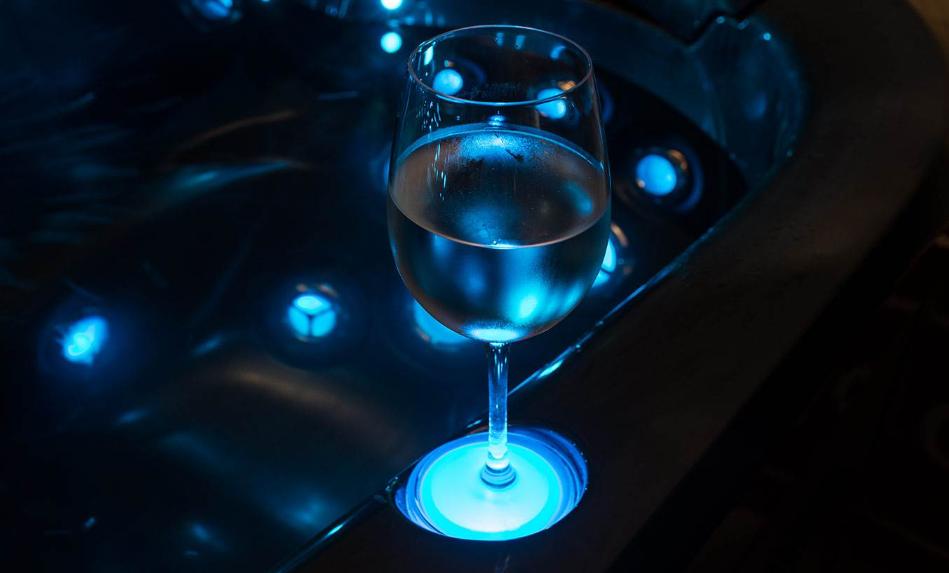 LED Lighted Drinks Holder