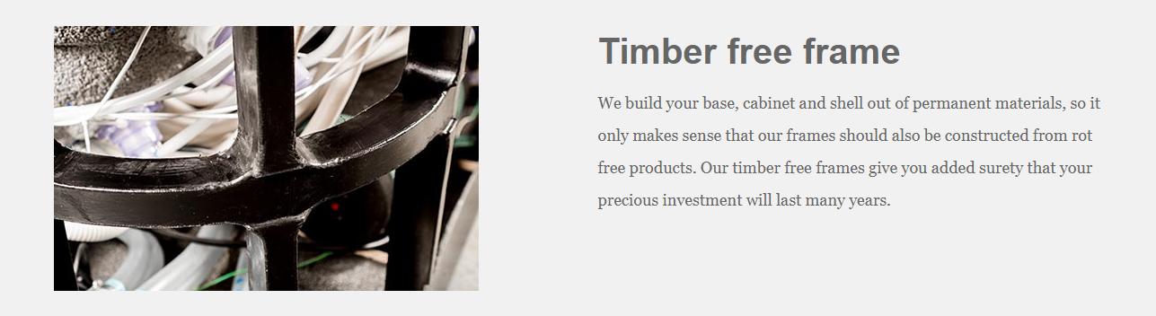 Timber Free Frame